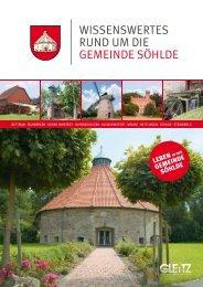 Broschüre Gemeinde Söhlde 2017