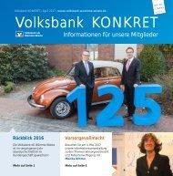 Volksbank KONKRET - April 2017