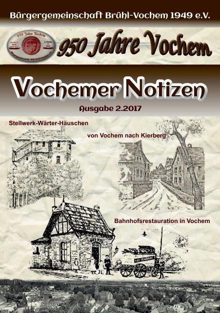 Vochemer Notizen - Ausgabe 02.2017