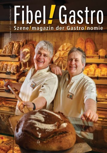 Fibel!Gastro August / September 2017