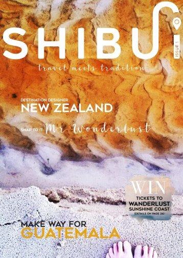 SHIBUI Issue 1