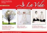 La Vida Magazin Ausgabe Sept. - Dez. 2017