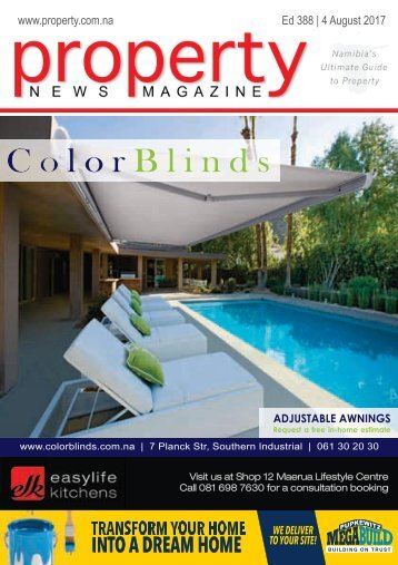 Property News Magazine - Edition 388 - 4 August 2017