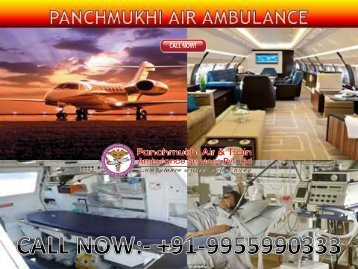 Panchmukhi Air Ambulance Service in Kolkata to Guwahati at Low-Cost