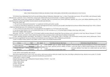 TÜLOMSAŞ Sözleşmeli Mühendis alım ilanı 23.07