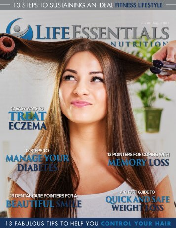 Life Essentials Magazine  - August 2017