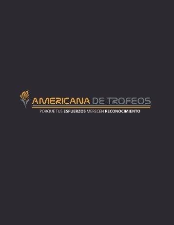 PORTAFOLIO DE PRODUCTOS - AMERICANA DE TROFEOS