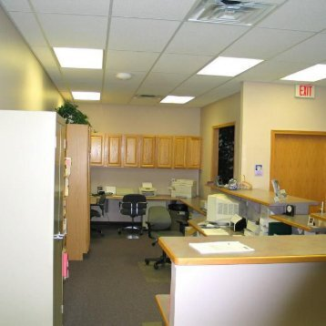 Front office and checkout department at the office of Clinton Township dentist Michael J Aiello, DDS