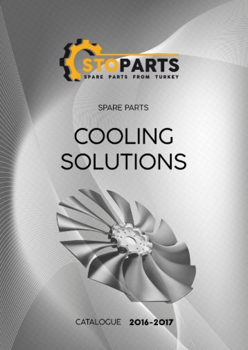 Cooling solutions parts for trucks and special equipment from Turkey