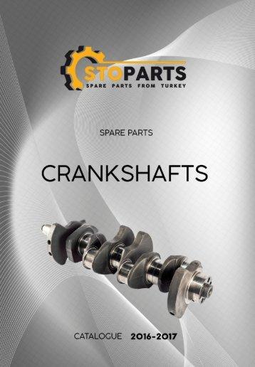 Коленвалы для грузовиков, спецтехники и сельхозтехники Crankshafts for trucks, special equipment and tractors
