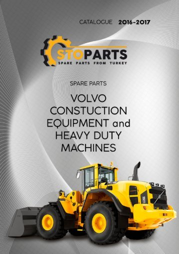 Volvo special equipment spare parts - Запчасти для спецтехники Volvo