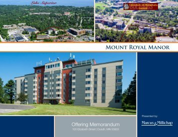 Mount Royal Manor Offering Memorandum
