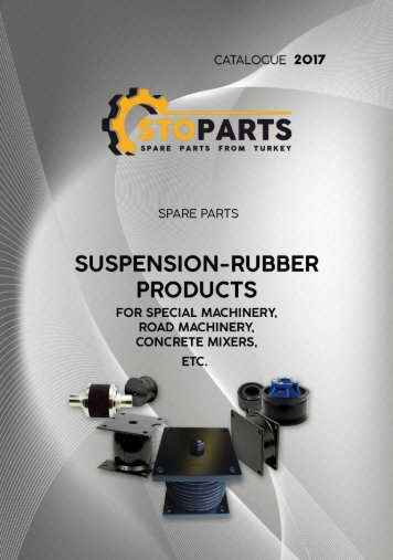 Suspension rubber parts for special machinery - Резинотехнические запчасти для спецтехники