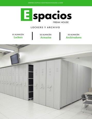 Brochure Archivo y Lockers