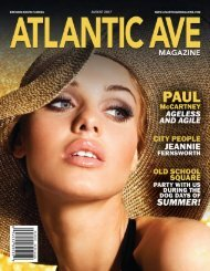 Atlantic Ave Magazine August 2017