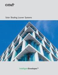 Solar Shading Louver Systems