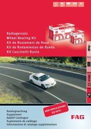 RADLAGERSATZ Roulement phrase Wheel Bearing A.B.S