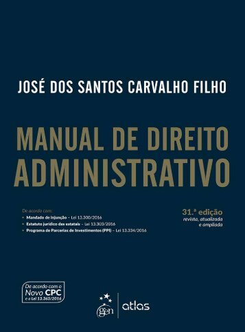 _Manual de Direito Administrativo_(2017)_Jose dos Santos Carvalho Filho