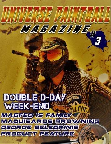 Universe Paintball magazine 3