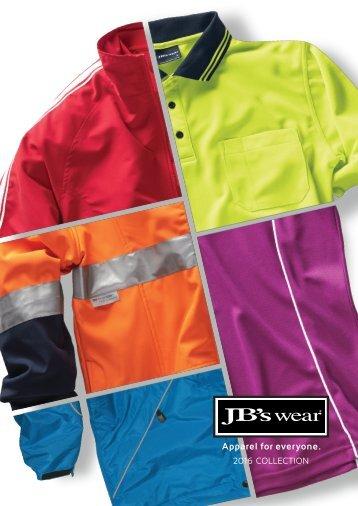 JB wear publication