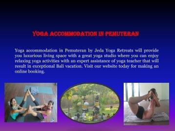 Luxury yoga retreats Bali