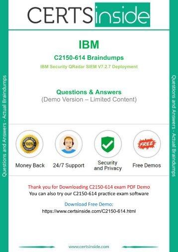 C2150-614 Exam Questions