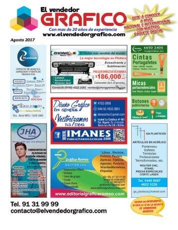 Revista El Vendedor Gráfico Agosto 2017