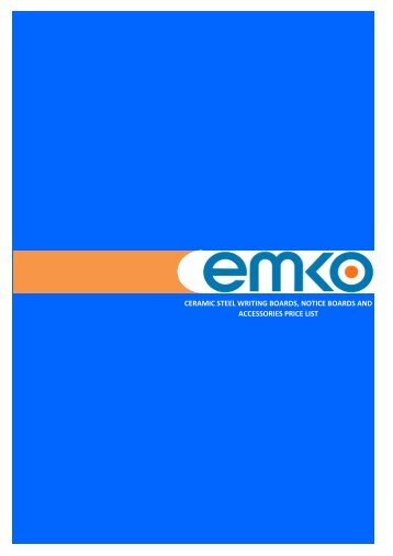 VISUAL COMMUNICATION - EMKO PRODUCTS