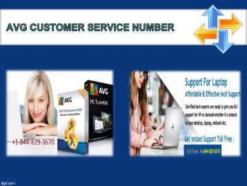 AVG Customer Service Number