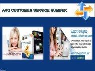 AVG Customer Service Number