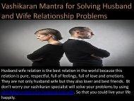 Vashikaran Mantra for Husband and Wife in Mumbai Chennai 9872433121