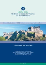 Northern European Conference on Travel Medicine - ISTM