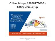 Office Setup - 18888279060 - Office.com/Setup