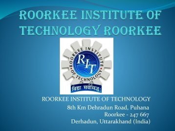 Rit Best engineering college in roorkee