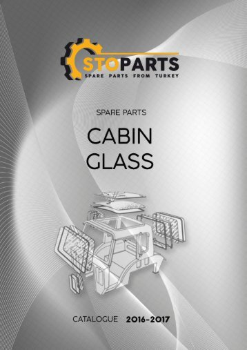 Cabin glasses for Tractors - Стекла для Тракторов