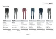 Special Jeans & Trousers-Zabaione