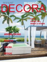 Decora Magazine Julio-Agosto 2017