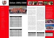 Saison 2005/2006 Das Team - Neusser eV