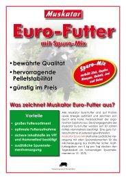 Sortenprogramm Euro-Futter - Muskator-Werke GmbH