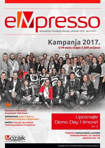 eMpresso Vol. 1 - F. Mozaik Newsletter