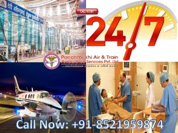 Panchmukhi Air Ambulance Service from Indore to Bagdogra at Low-Cost