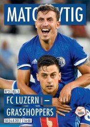 FC LUZERN MATCHZYTIG N°2 17/18 (RSL 3)