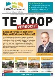 NAMACO Flevoland Woonmagazine, uitgave augustus 2017