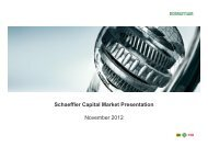 Capital Market Presentation 2012 PDF - Schaeffler Group