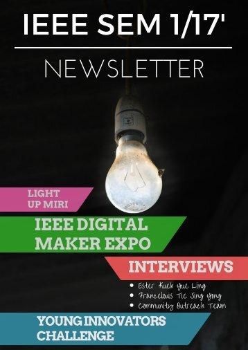 IEEE Newsletter 2017 Semester 1