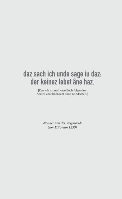 Lindner, Waltherpark - Lesprobe