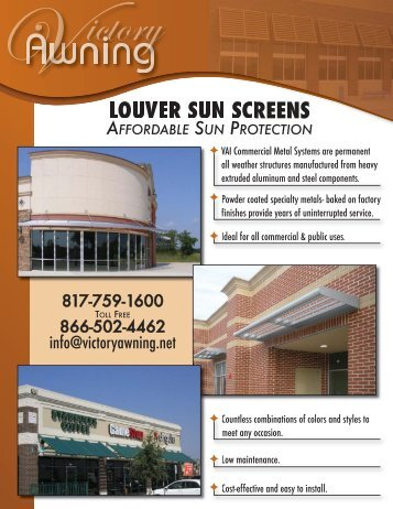 Louver Sun ScreenLayout 1