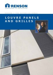 Louvre Panels and Grilles - RIBA Product Selector