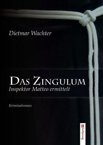 Wachter, Zingulum - Leseprobe