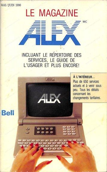 ALEXtel mai-juin 1990
